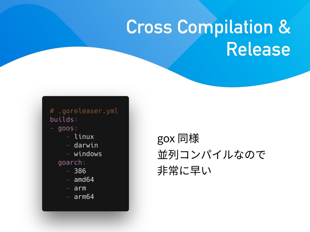 gox Cross Compilation & Release