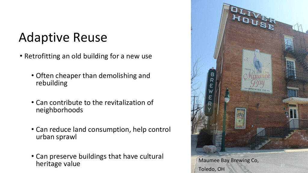 Adaptive Reuse • Retrofitting an old building f...
