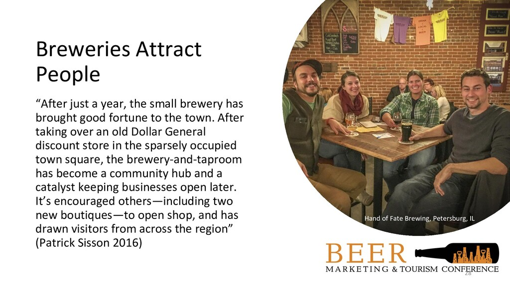 "Breweries Attract People ""After just a year, th..."