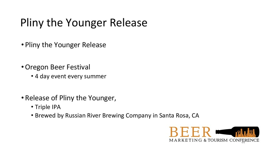 Pliny the Younger Release •Pliny the Younger Re...