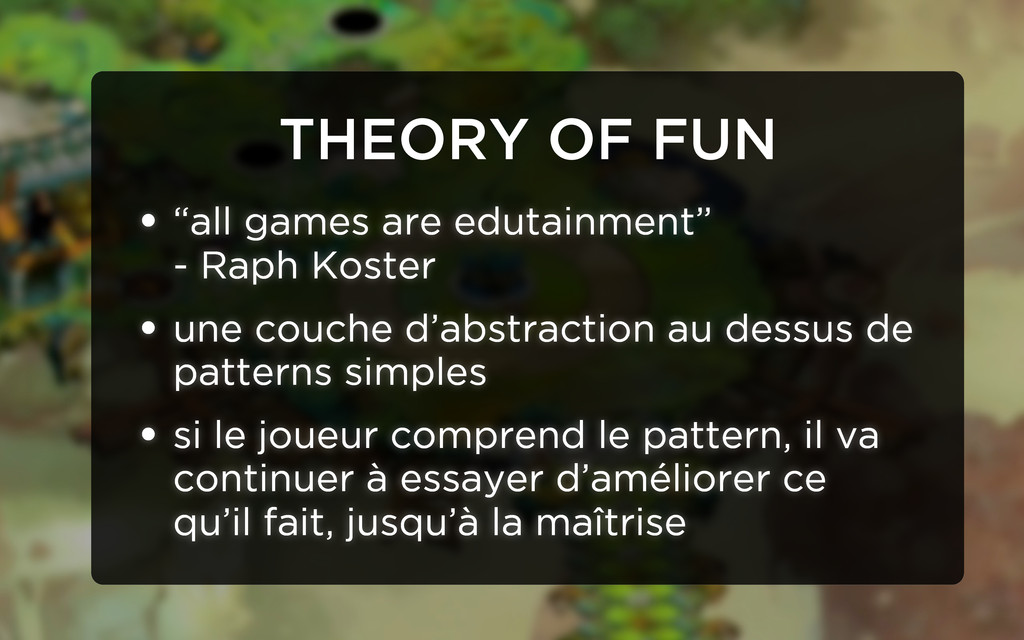 "THEORY OF FUN • ""all games are edutainment"" - R..."