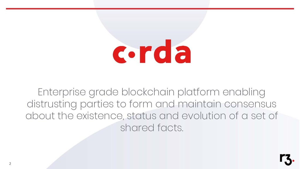 Enterprise grade blockchain platform enabling d...