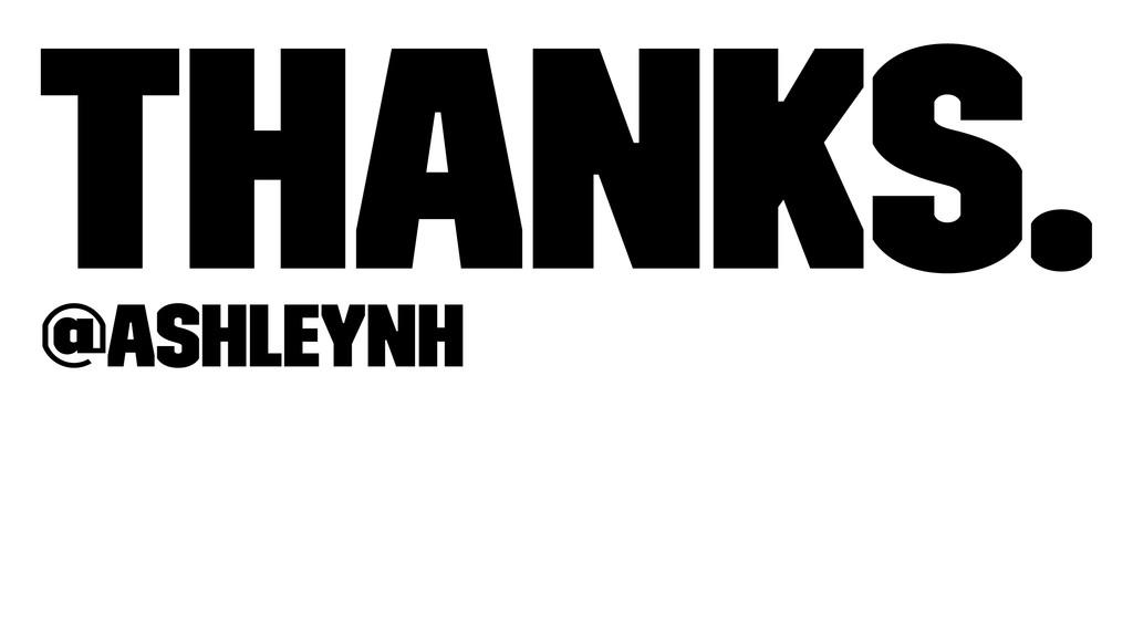 Thanks. @ashleynh