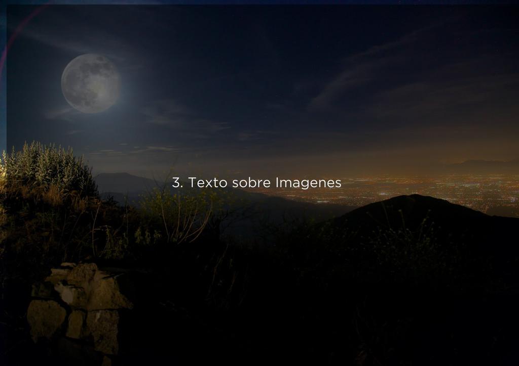 3. Texto sobre Imagenes