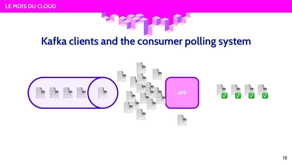 LE MOIS DU CLOUD APP 18 Kafka clients and the c...