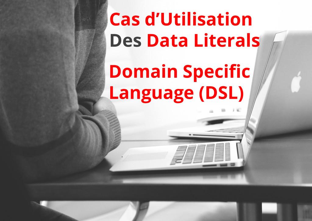 Cas d'Utilisation Des Data Literals Domain Spec...