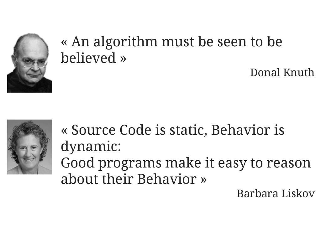 « An algorithm must be seen to be believed » Do...