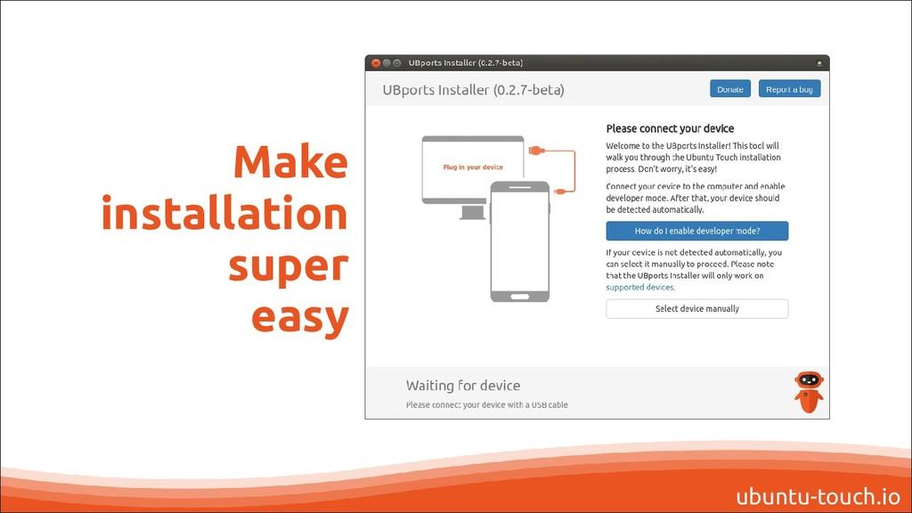 ubuntu-touch.io Make installation super easy