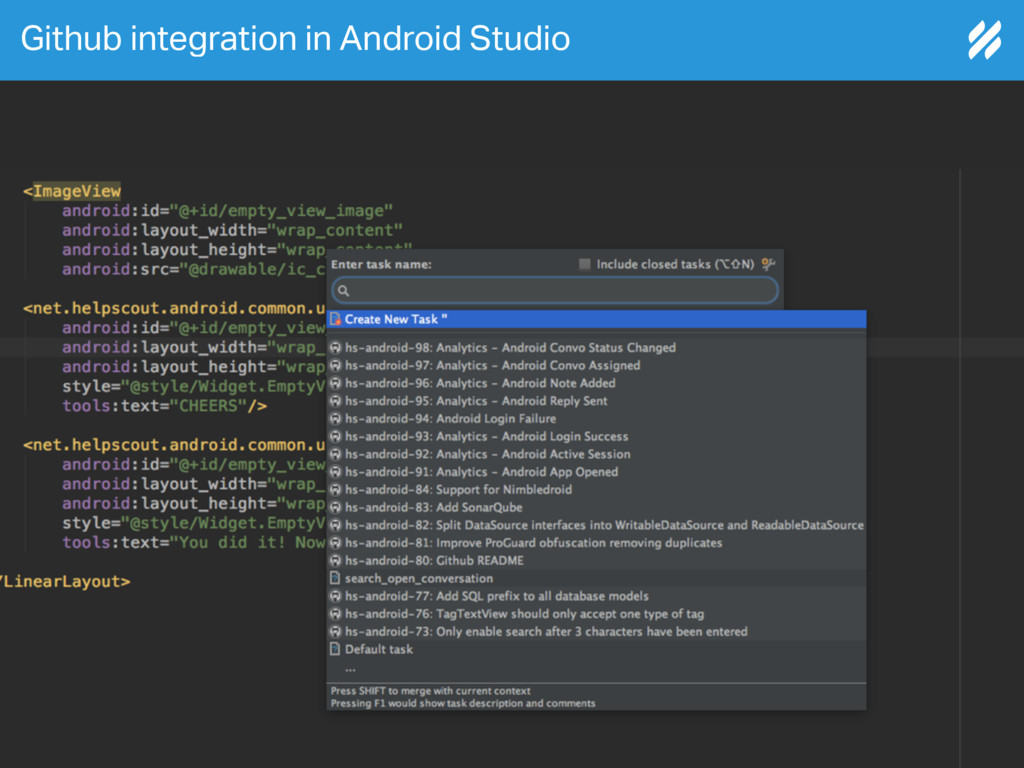 Github integration in Android Studio