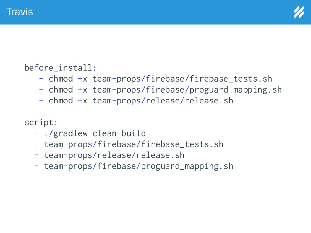 Travis before_install: - chmod +x team-props/fi...