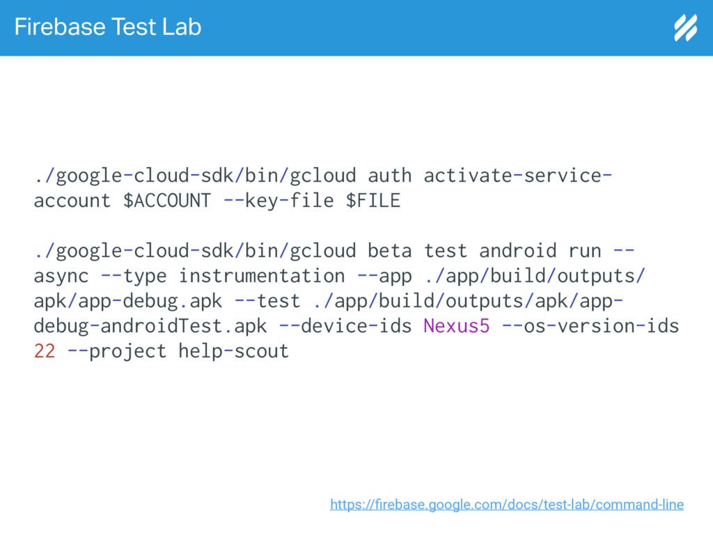 Firebase Test Lab https://firebase.google.com/do...