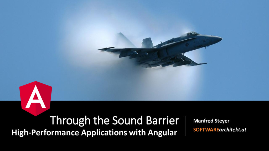 Through the Sound Barrier High-Performance Appl...