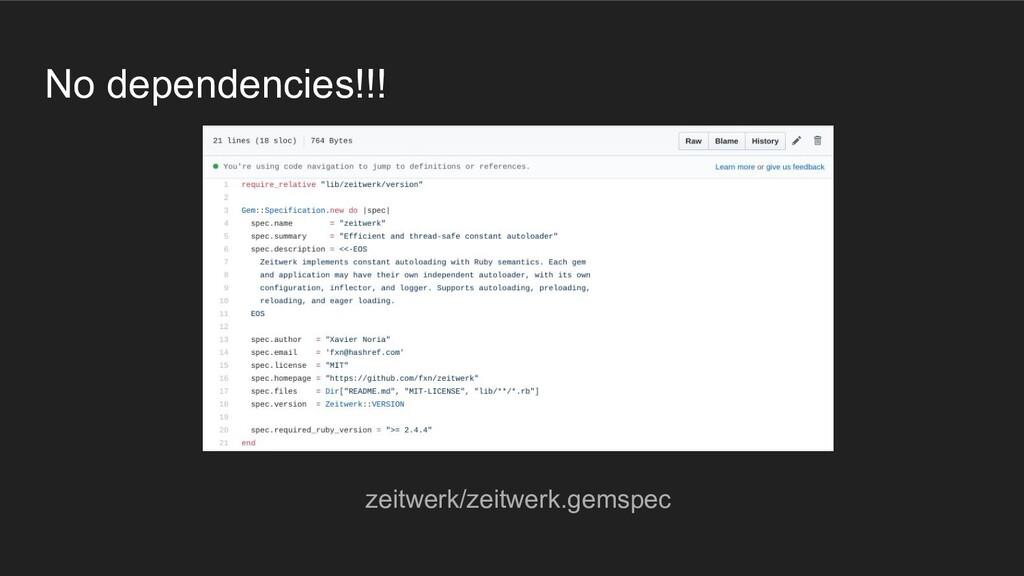 No dependencies!!! zeitwerk/zeitwerk.gemspec