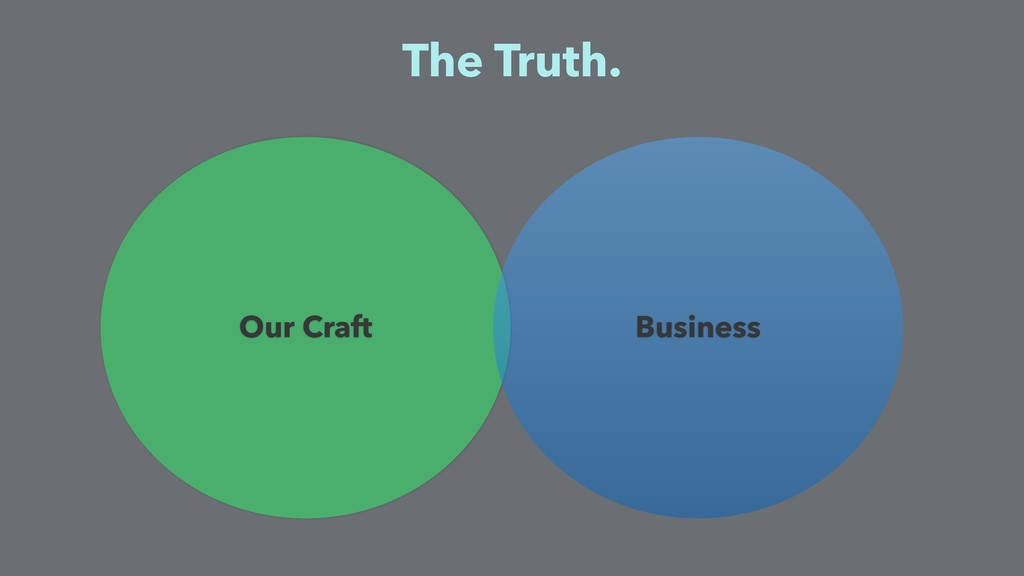 Our Craft The Truth. Business