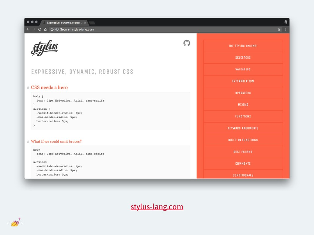stylus-lang.com