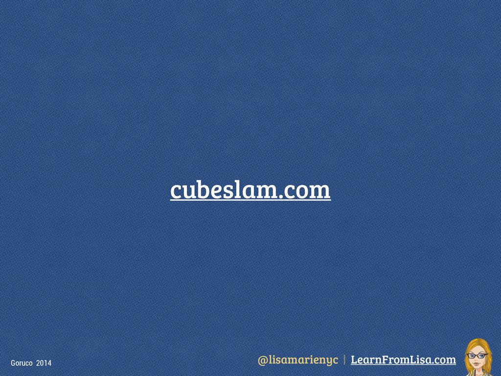 @lisamarienyc | LearnFromLisa.com Goruco 2014 c...