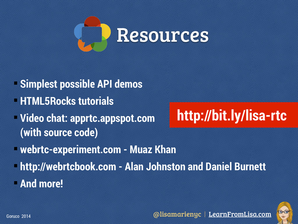 @lisamarienyc | LearnFromLisa.com Goruco 2014 R...