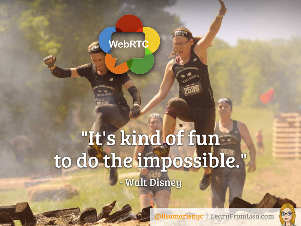 """""""It's kind of fun  to do the impossible."""" - Wa..."""