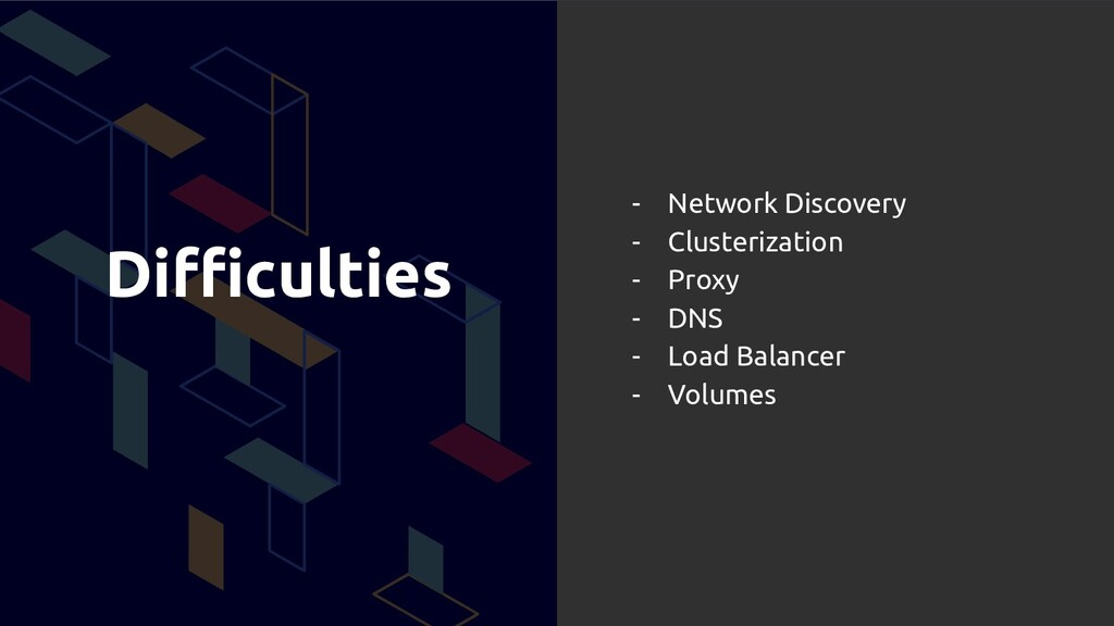 Difficulties - Network Discovery - Clusterization...