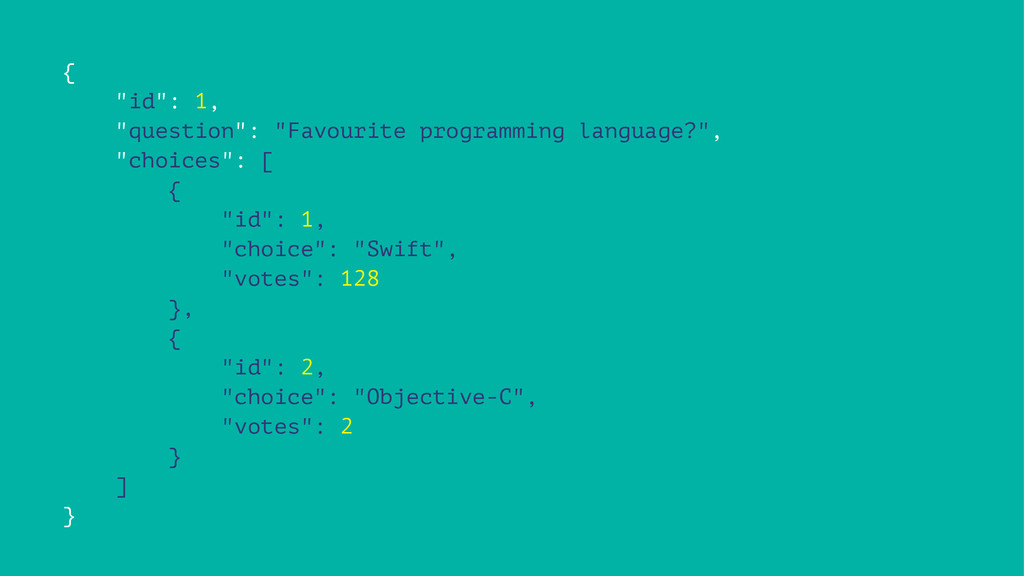 "{ ""id"": 1, ""question"": ""Favourite programming l..."