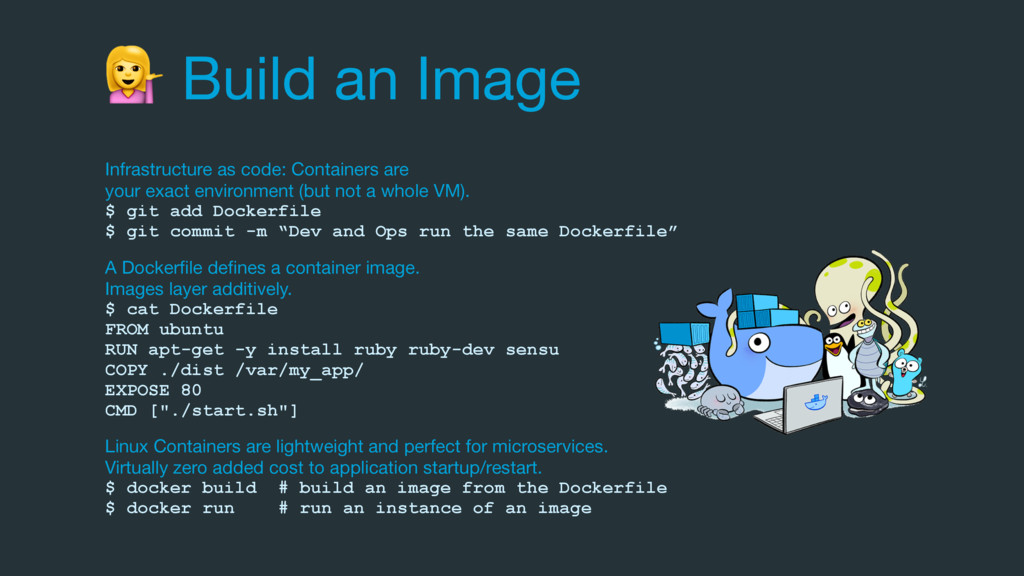 Build an Image Infrastructure as code: Contain...