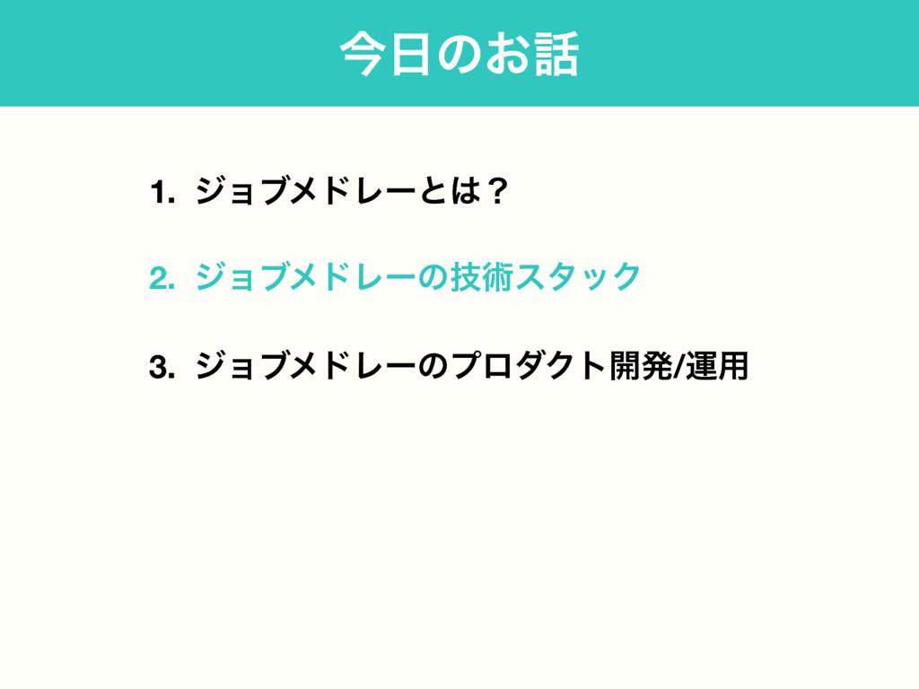 1. δϣϒϝυϨʔͱʁ 2. δϣϒϝυϨʔͷٕज़ελοΫ 3. δϣϒϝυϨʔͷϓϩμΫ...