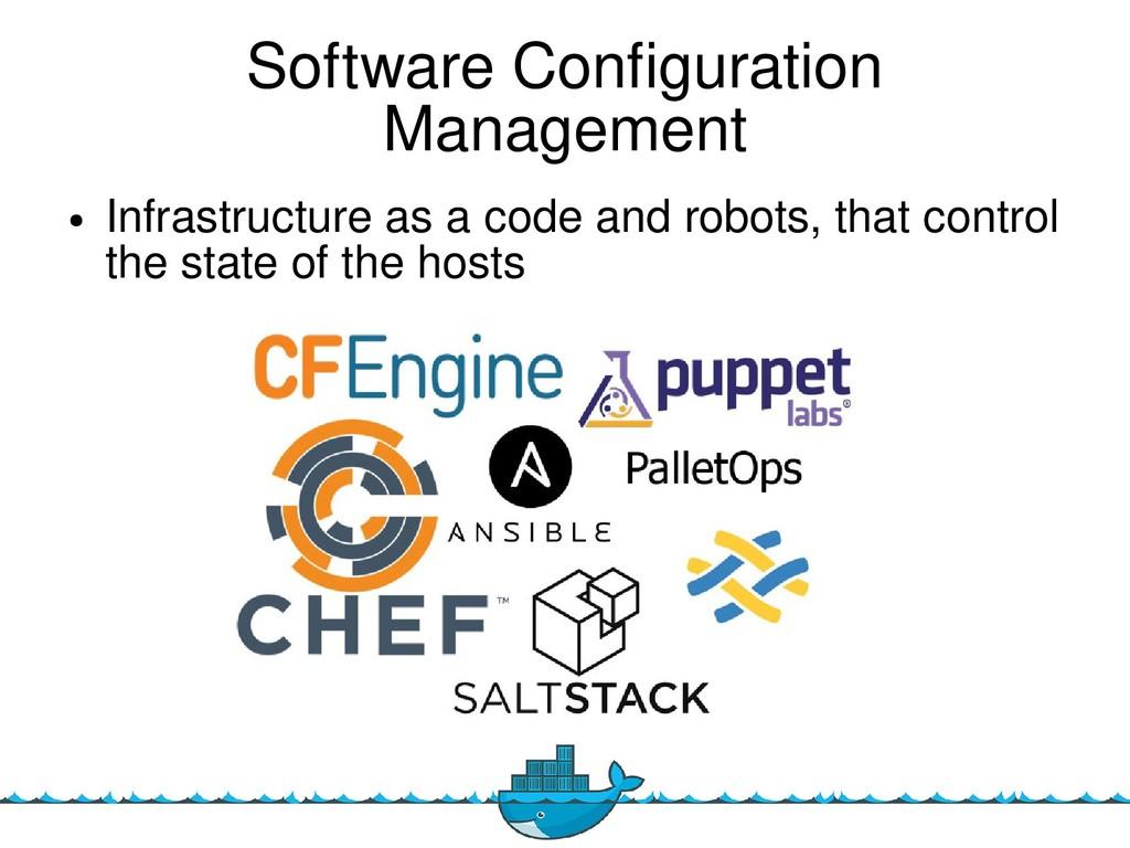 14 Software Confguration Management ● Infrastru...