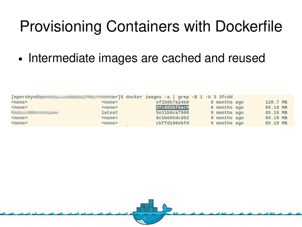 10 Provisioning Containers with Dockerfle ● Int...