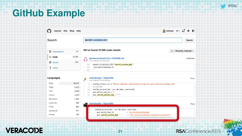 #RSAC GitHub Example 21