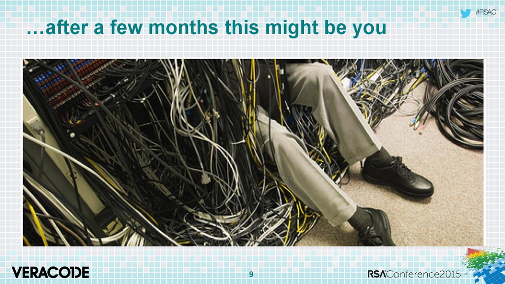 #RSAC …after a few months this might be you 9