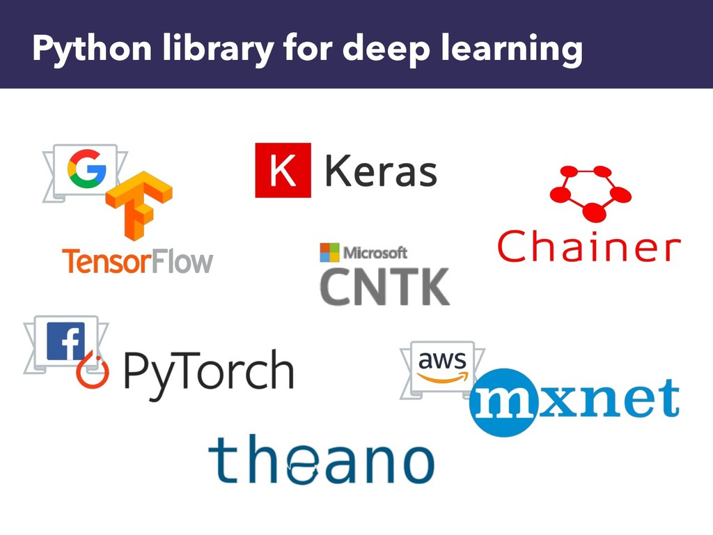 Python library for deep learning