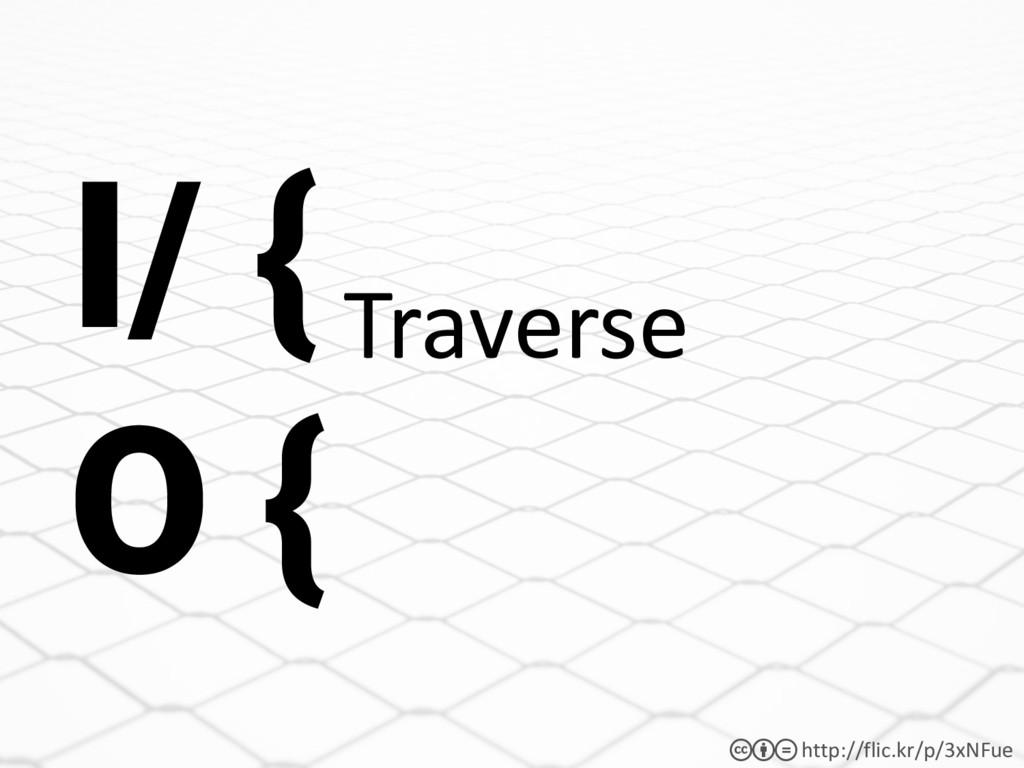 http://flic.kr/p/3xNFue cbd Traverse I/ { O {