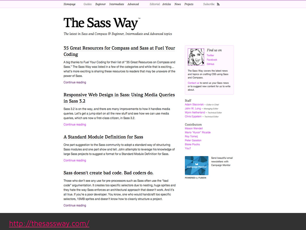 http://thesassway.com/