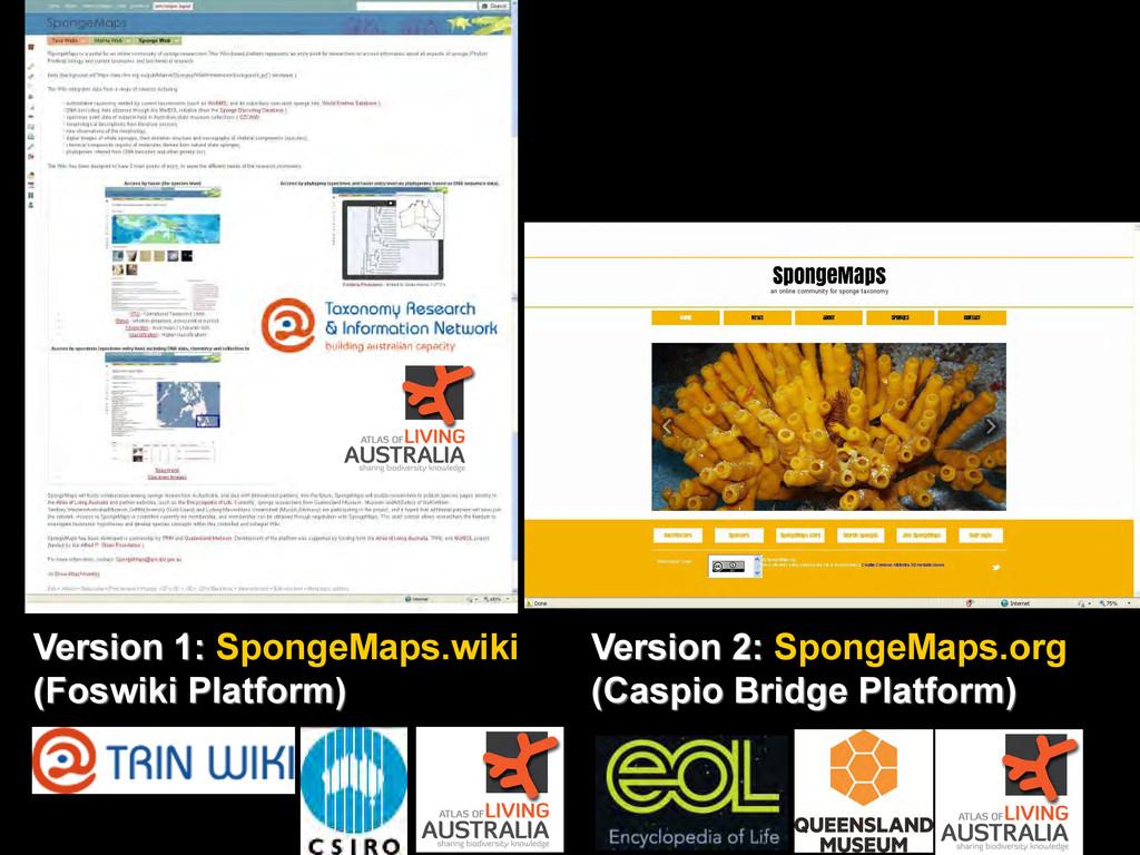 Version 1: SpongeMaps.wiki (Foswiki Platform) V...