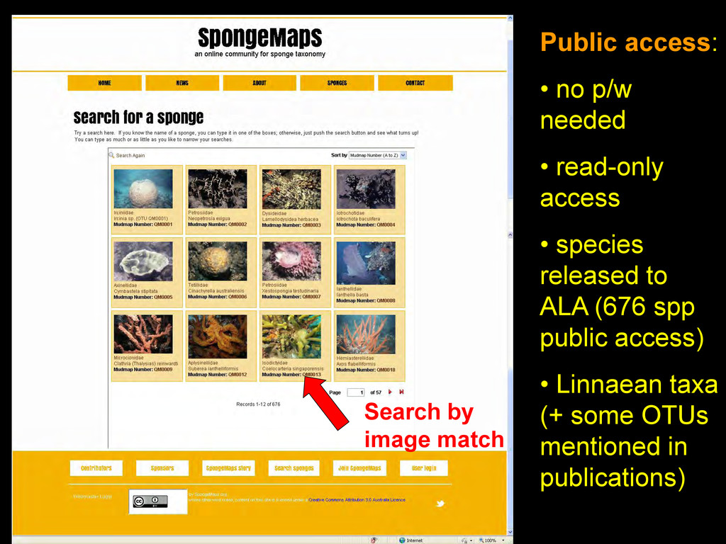 Public access: • no p/w needed • read-only acce...