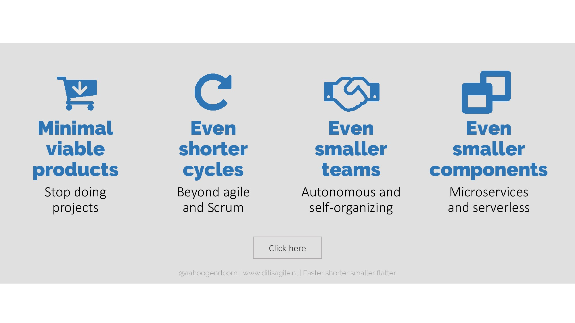 Click here Even shorter cycles Beyond agile and...