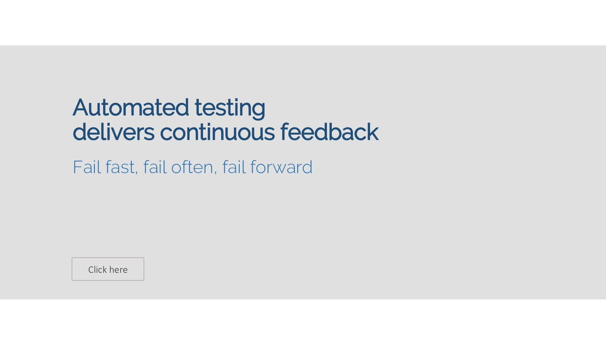 Click here Automated testing delivers continuou...