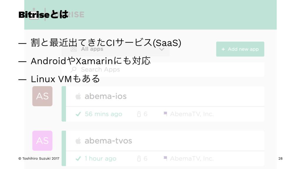 Bitriseͱ — ׂͱ࠷ۙग़͖ͯͨCIαʔϏε(SaaS) — AndroidXama...