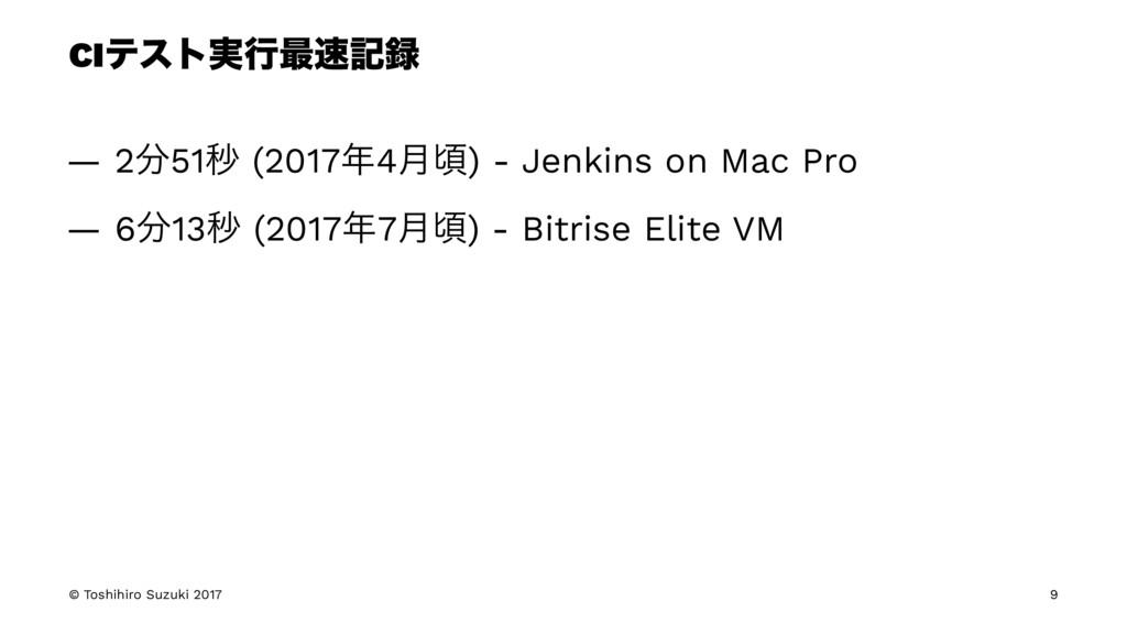 CIςετ࣮ߦ࠷ه — 251ඵ (20174݄ࠒ) - Jenkins on Mac...