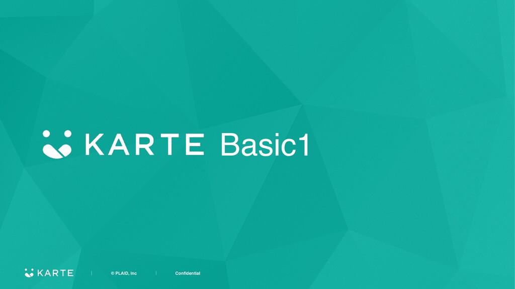 ʛɹɹɹɹ© PLAID, IncɹɹɹɹʛɹɹɹɹConfidential Basic1