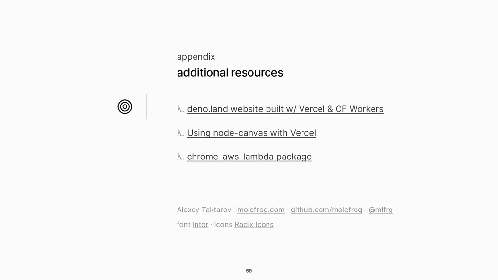 59 λ. deno.land website built w/ Vercel & CF Wo...