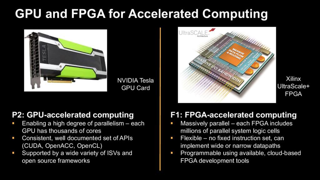 GPU and FPGA for Accelerated Computing NVIDIA T...