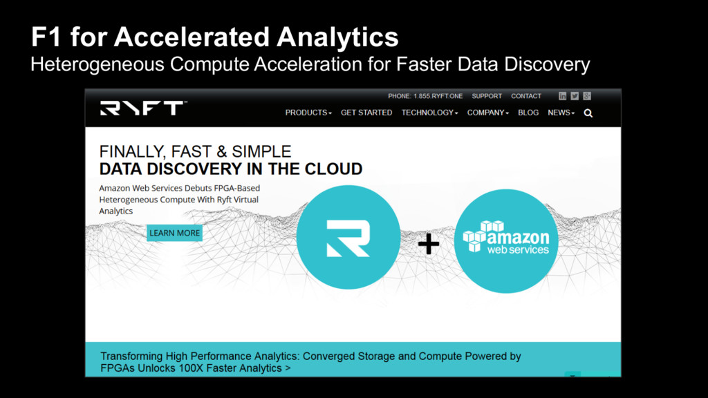 F1 for Accelerated Analytics Heterogeneous Comp...