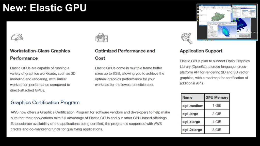 New: Elastic GPU