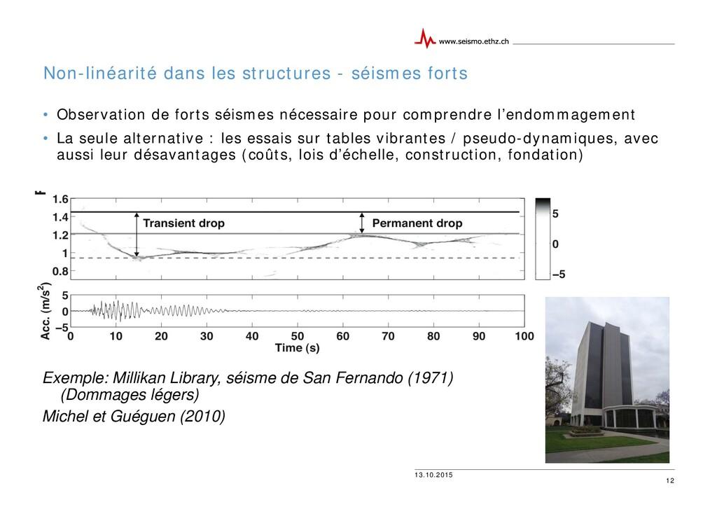 13.10.2015 Non-linéarité dans les structures - ...