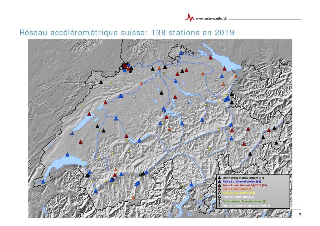 13.10.2015 Réseau accélérométrique suisse: 138 ...