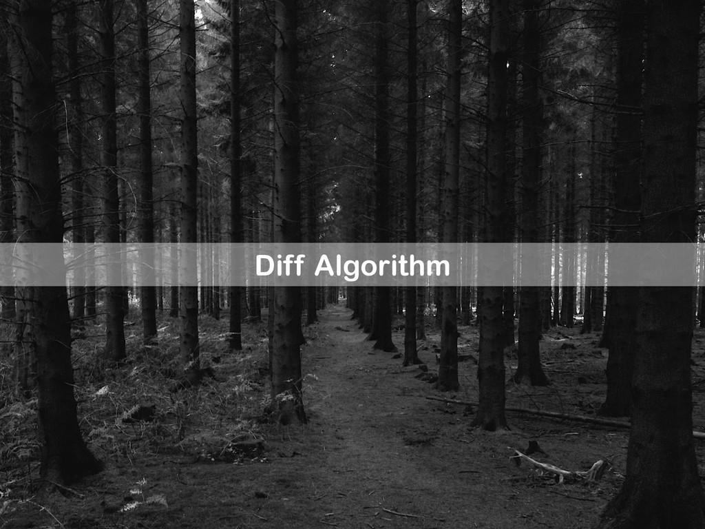 Diff Algorithm