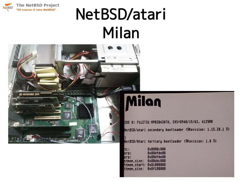 NetBSD/atari Milan