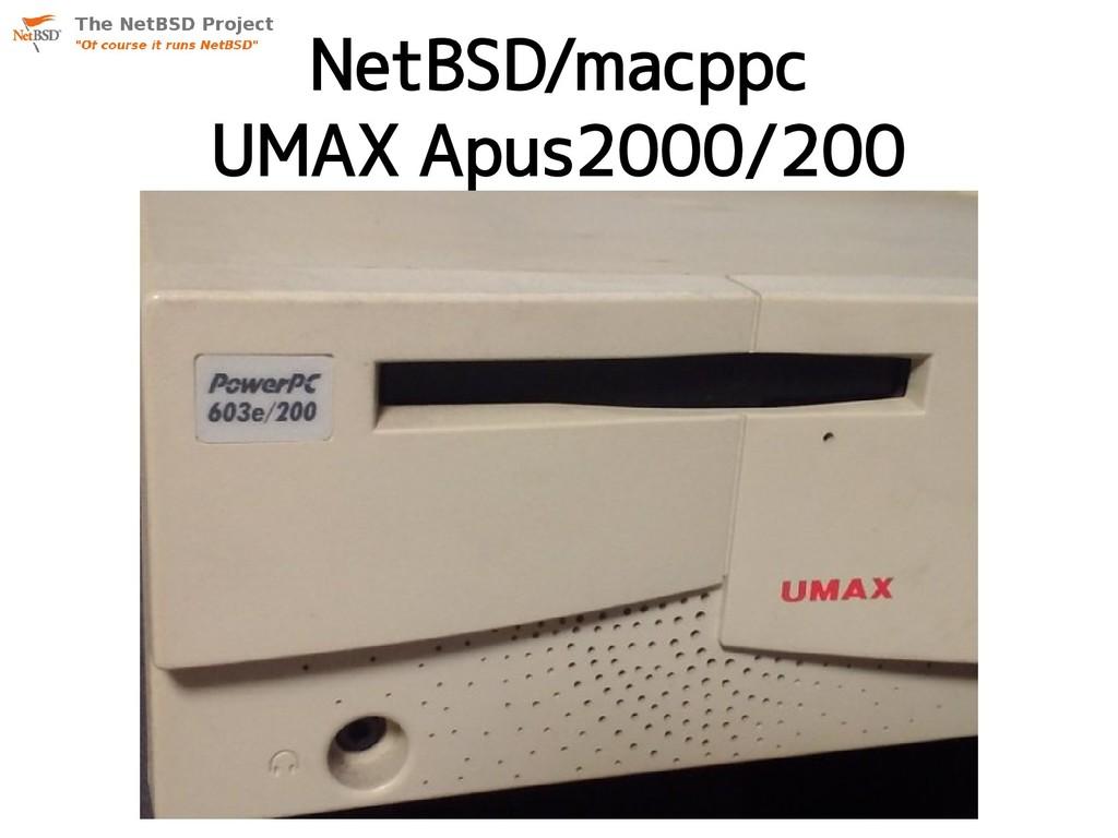 NetBSD/macppc UMAX Apus2000/200