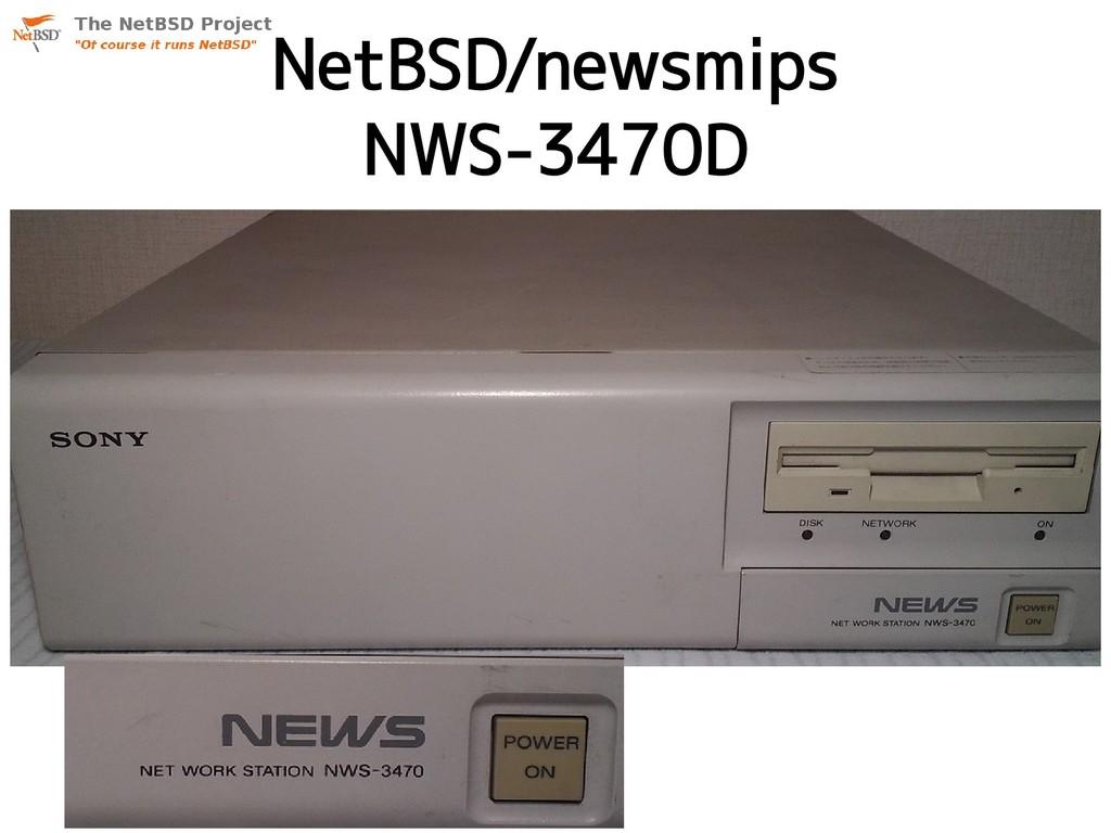 NetBSD/newsmips NWS-3470D